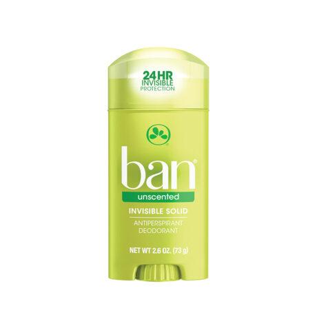 Ban desodorante unscented
