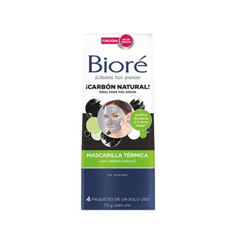 Bioré Mascarilla térmica con carbón natural