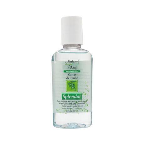 NW gotas de brillo splendor aceite de oliva
